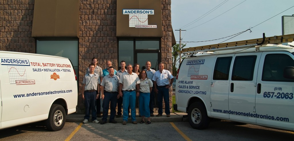 Anderson's Electronics Team Photo